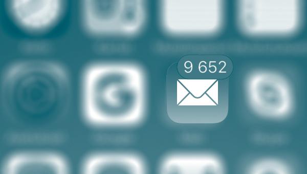 Liikaa Sähköpostia